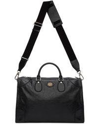 Gucci Black Medium Weekender Bag