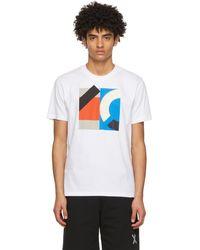KENZO - ホワイト Sport ロゴ T シャツ - Lyst