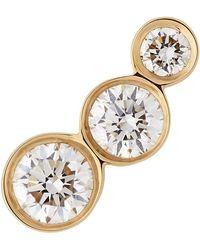 Sophie Bille Brahe - Vvs Diamond Croissant Trois Earring - Lyst