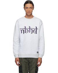 Neighborhood グレー クラシック スウェットシャツ
