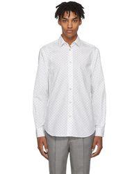 Paul Smith - White Small Heart Dress Shirt - Lyst