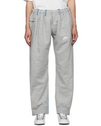 Bless Gray & Blue No69 Lost In Contemplation Variation Without Words Overjogging Lounge Pants