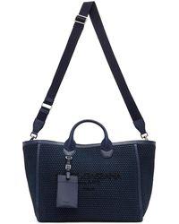 Dolce & Gabbana ネイビー ショッピング トート - ブルー