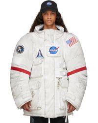 Balenciaga ホワイト Space パーカー