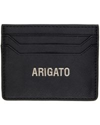 Axel Arigato - ブラック サフィアーノ カード ケース - Lyst