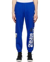 adidas Originals Blue Forum Lounge Pants
