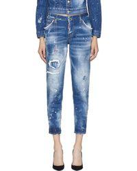DSquared² - Blue Hockney Jeans - Lyst