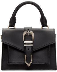 Versus - Black Mini Buckle Bag - Lyst