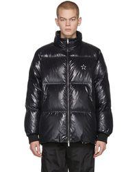 Valentino Vltnstar コレクション ブラック ダウン ジャケット
