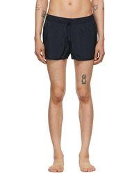 CDLP Navy Twill Swim Shorts - Blue
