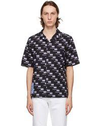 McQ ブラック Yoke Casual シャツ