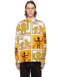 Etudes Studio - Keith Haring Foundation エディション ホワイト Illusion シャツ - Lyst