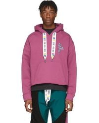 REEBOK X PYER MOSS Purple Collection 3 Franchise Hoodie - Red