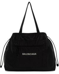 Balenciaga ブラック Expandable トート