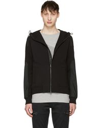 Belstaff - Black Blakenham Zip Sweater - Lyst