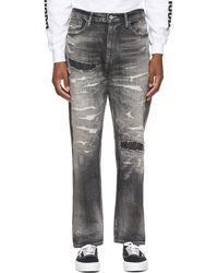 Neighborhood Black Scratch Savage Mid/c-pt Jeans