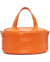 Balenciaga - Orange Small Air Hobo Arena Bag - Lyst