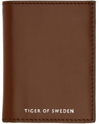 Tiger Of Sweden - ブラウン Whin ウォレット - Lyst