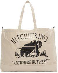 Reese Cooper Ssense 限定 オフホワイト Hitchhiking トート - マルチカラー