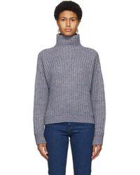 Isabel Marant ブルー And パープル Iris セーター