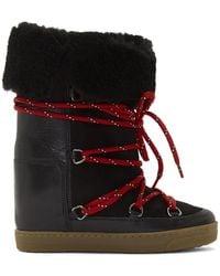 Isabel Marant ブラック Nowly ブーツ