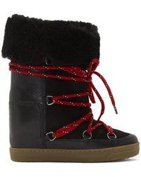 Isabel Marant - Black Nowly Boots - Lyst
