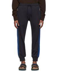 Dries Van Noten - Navy Hastley Lounge Pants - Lyst