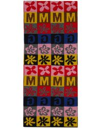 Molly Goddard Multicolour Vinnie Checkerboard Scarf