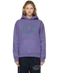 Brain Dead Purple Lovebond Hoodie