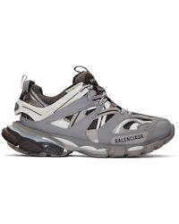 Balenciaga Track Trainers - Gray