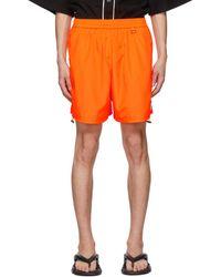 we11done Short Basic String orange