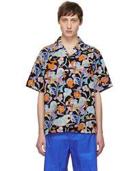 Prada - Multicolour Floral Abstract Shirt - Lyst