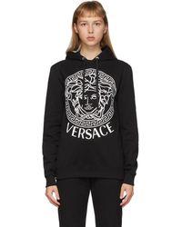 Versace Ssense 限定 ブラック メドゥーサ フーディ