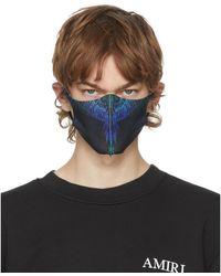 Marcelo Burlon - ブラック Active フェイス マスク 3 枚セット - Lyst