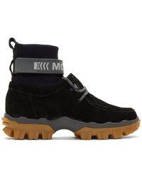 Moncler ブラック Henke ブーツ