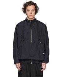 Goodfight Black Commuter Windbreaker Jacket