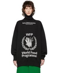 Balenciaga - ブラック World Food Programme タートルネック - Lyst