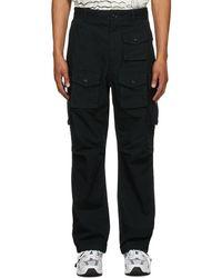 Engineered Garments ブラック Fa カーゴ パンツ