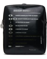 MM6 by Maison Martin Margiela ブラック Motorcross ロゴ バックパック