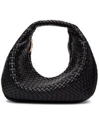 Bottega Veneta - Black Intrecciato Nappa Bag - Lyst
