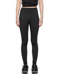 Comme des Garçons - Black Two-way Leggings - Lyst
