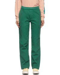 Brain Dead Green Hard Ware/soft Wear Carpenter Pants