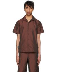 Marc Jacobs Heaven By Tiny Teddy Short Sleeve Shirt - Brown
