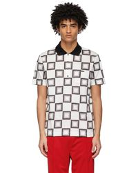 Lacoste Ricky Regal エディション ホワイト & グレー ポロシャツ - マルチカラー