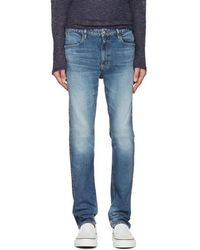 Nonnative - Indigo Dweller Tapered Fit Jeans - Lyst