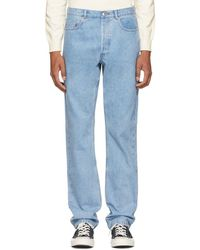 A.P.C. - Blue Standard Jeans - Lyst