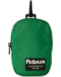 Alexander McQueen Green Mini Headphone Pouch