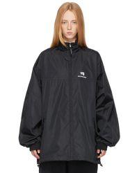 Balenciaga ブラック ジャケット