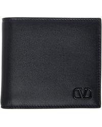 Valentino Garavani コレクション ブラック Vlogo シグネチャ ウォレット