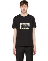 Givenchy Black Rottweiler T-shirt